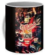 Miller Racing Sign 25th Year Coffee Mug
