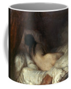 Millet: Reclining Nude Coffee Mug