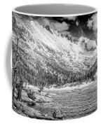 Mills Lake Monochrome Coffee Mug