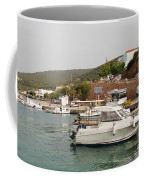 Milos On Agistri Island Coffee Mug