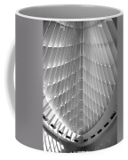 Milwaukee Art Museum Interior B-w Coffee Mug
