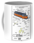 Milwaukee Road Sd-40 Pop-art Coffee Mug