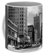 Milwaukee Street Scene B-w Coffee Mug