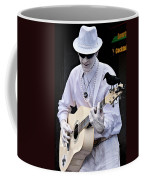 Mime And Guitar Coffee Mug