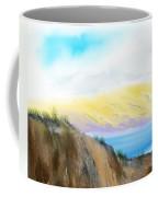Mindscape - Hazy Day Along The Coast Coffee Mug
