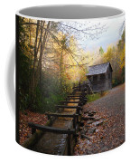 Mingus Mill Fall Color Great Smoky Mountains National Park Coffee Mug