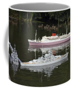 Miniature Boats Coffee Mug