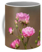 Miniature Pink Roses Coffee Mug