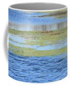 Brazos Bend Wetland Abstract Coffee Mug