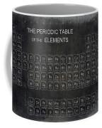 Minimalist Periodic Table Coffee Mug by Daniel Hagerman