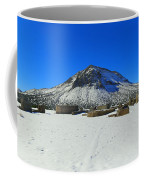 Mining Ruins Foreground A Snowy Mountain Coffee Mug