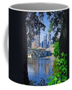 Minneapolis Through The Trees Coffee Mug