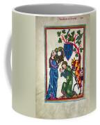Minnesinger, 14th Century Coffee Mug by Granger
