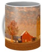 Minnesota Farm At Sunset Coffee Mug