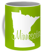 Minnesota In White Coffee Mug