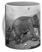 Minnie The Elephant, 1920s Coffee Mug