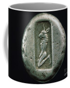 Minotaur On A Greek Coin Coffee Mug