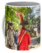Minuteman And Redcoat Concord Ma Pencil Coffee Mug