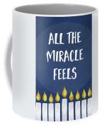 Miracle Feels- Hanukkah Art By Linda Woods Coffee Mug
