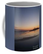 Mirror Reflection Beach Surf Coffee Mug