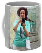 Mirrored Self-portrait Coffee Mug