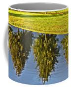 Mirroring Trees Coffee Mug