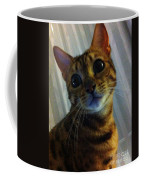 Mischievous Bengal Cat Coffee Mug