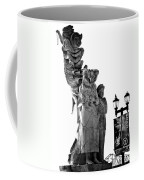 Miss Liberty And The Immigrant Family Coffee Mug