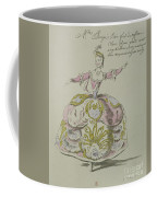 Miss Puvigne As Air, In Zoroastre, A Libretto By Cahusac Coffee Mug