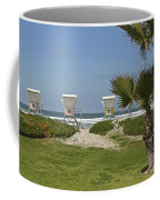 Mission Beach Shelters Coffee Mug