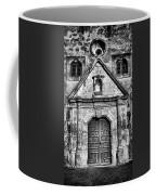 Mission Concepcion Front - Classic Bw Coffee Mug