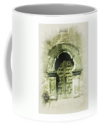 Mission Espada Chapel Door Coffee Mug