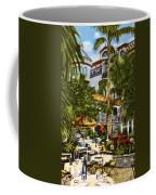 Mission Inn Spanish Patio 1940s Coffee Mug