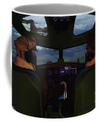 Mission Over Germany - Oil Coffee Mug