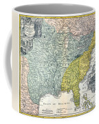 Mississippi Region, 1687 Coffee Mug
