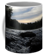 Mississippi River Dawn Sky Coffee Mug
