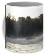 Mississippi River Fisherman At Dawn Coffee Mug