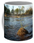 Mississippi River Grass On A Rock Coffee Mug