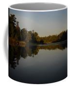Mississippi River Mirror Like Water Coffee Mug