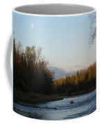 Mississippi River Moon At Dawn Coffee Mug