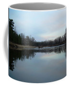 Mississippi River Morning Reflection Coffee Mug