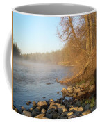 Mississippi River Shades Of Fog Coffee Mug