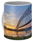 Mississippi Sunrise Crossing Coffee Mug