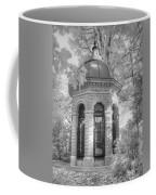 Missouri Botanical Garden Henry Shaw Crypt Infrared Black And White Coffee Mug