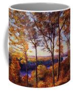 Missouri River In Fall Coffee Mug