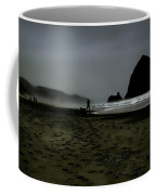 Mist At Cannon Beach Coffee Mug