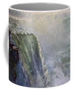 Mist At Horseshoe Falls  Coffee Mug