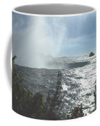 Mist At The Falls Coffee Mug