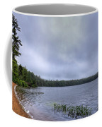 Mist Over Nicks Lake Coffee Mug