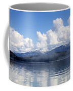 Mist Over Priest Lake Coffee Mug